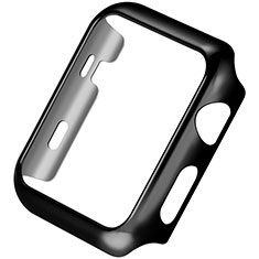 Luxury Aluminum Metal Frame Cover C03 for Apple iWatch 3 42mm Black