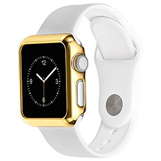 Luxury Aluminum Metal Frame Cover C03 for Apple iWatch 3 42mm Gold
