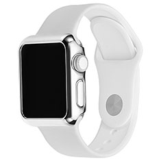 Luxury Aluminum Metal Frame Cover C03 for Apple iWatch 3 42mm Silver