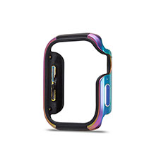 Luxury Aluminum Metal Frame Cover Case for Apple iWatch 5 44mm Colorful