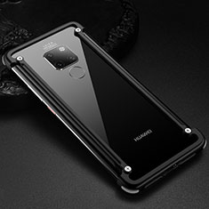 Luxury Aluminum Metal Frame Cover Case for Huawei Mate 20 Black