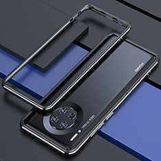 Luxury Aluminum Metal Frame Cover Case for Huawei Mate 30E Pro 5G Black
