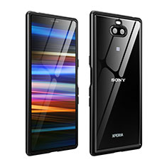 Luxury Aluminum Metal Frame Cover Case for Sony Xperia 10 Plus Black