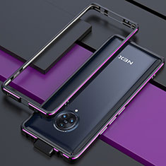 Luxury Aluminum Metal Frame Cover Case for Vivo Nex 3S Purple