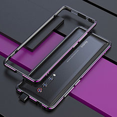 Luxury Aluminum Metal Frame Cover Case for Xiaomi Mi 9T Purple