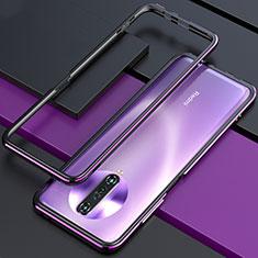 Luxury Aluminum Metal Frame Cover Case for Xiaomi Redmi K30 4G Purple