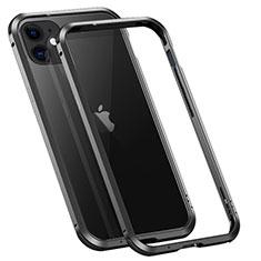 Luxury Aluminum Metal Frame Cover Case T02 for Apple iPhone 12 Mini Black