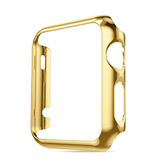 Luxury Aluminum Metal Frame Cover for Apple iWatch 3 42mm Gold