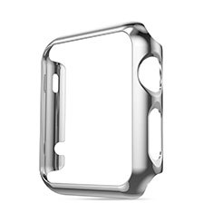 Luxury Aluminum Metal Frame Cover for Apple iWatch 3 42mm Silver
