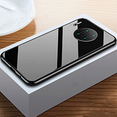 Luxury Aluminum Metal Frame Mirror Cover Case 360 Degrees M02 for Huawei Mate 30 Pro 5G Black