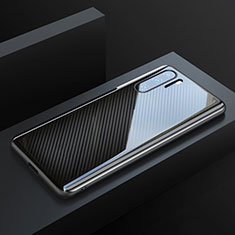 Luxury Carbon Fiber Twill Soft Case T01 for Huawei P30 Pro Black