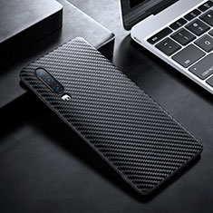 Luxury Carbon Fiber Twill Soft Case T02 for Huawei P30 Black