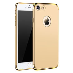 Luxury Metal Frame and Plastic Back Case M01 for Apple iPhone SE (2020) Gold