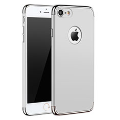 Luxury Metal Frame and Plastic Back Case M01 for Apple iPhone SE (2020) White