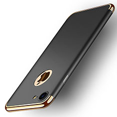 Luxury Metal Frame and Plastic Back Case M02 for Apple iPhone SE (2020) Black