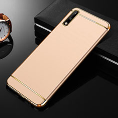 Luxury Metal Frame and Plastic Back Cover Case M01 for Huawei Enjoy 10 Gold