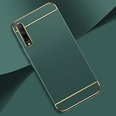 Luxury Metal Frame and Plastic Back Cover Case M01 for Huawei Enjoy 10S Green