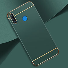 Luxury Metal Frame and Plastic Back Cover Case M01 for Realme C3 Green