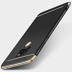 Luxury Metal Frame and Plastic Back Cover Case T01 for Huawei Mate 20 Black