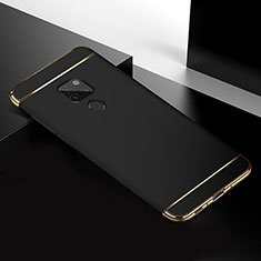 Luxury Metal Frame and Plastic Back Cover Case T02 for Huawei Mate 20 Black