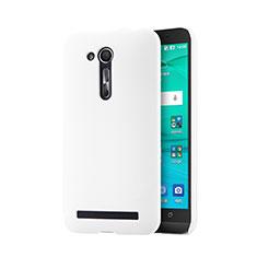 Mesh Hole Hard Rigid Snap On Case Cover for Asus Zenfone Go ZB452KG ZB551KL White