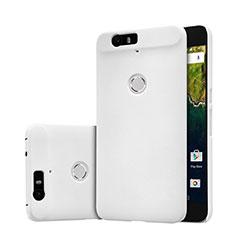 Mesh Hole Hard Rigid Snap On Case Cover for Google Nexus 6P White