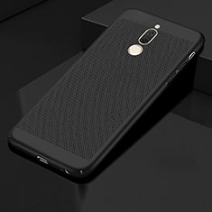 Mesh Hole Hard Rigid Snap On Case Cover for Huawei G10 Black
