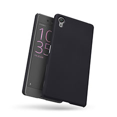 Mesh Hole Hard Rigid Snap On Case Cover for Sony Xperia X Black