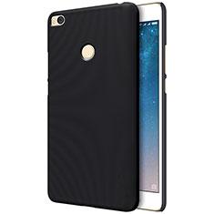 Mesh Hole Hard Rigid Snap On Case Cover for Xiaomi Mi Max 2 Black