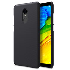 Mesh Hole Hard Rigid Snap On Case Cover for Xiaomi Redmi Note 5 Indian Version Black