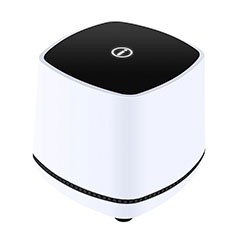 Mini Speaker Wired Portable Stereo Super Bass Loudspeaker W06 White