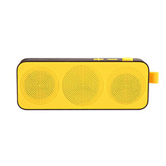 Mini Wireless Bluetooth Speaker Portable Stereo Super Bass Loudspeaker S12 for Amazon Kindle Paperwhite 6 inch Yellow