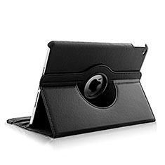 Rotating Stands Flip Leather Case for Apple iPad Air 2 Black