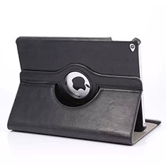 Rotating Stands Flip Leather Case for Apple iPad Mini 4 Black