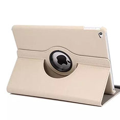 Rotating Stands Flip Leather Case for Apple iPad Mini 4 Rose Gold