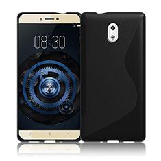S-Line Transparent Gel Soft Case for Nokia 3 Black