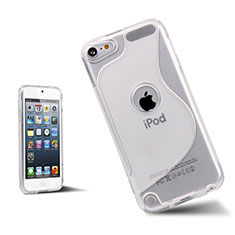 S-Line Transparent Gel Soft Cover for Apple iPod Touch 5 White