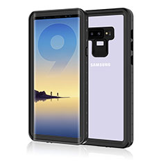 Silicone and Plastic Waterproof Cover Case 360 Degrees Underwater Shell for Samsung Galaxy Note 9 Black