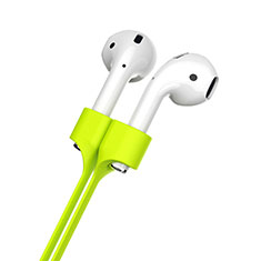 Silicone Anti-lost Strap Wire Cable Connector for Apple AirPods Pro Green