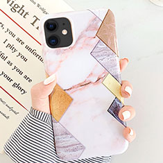 Silicone Candy Rubber Gel Fashionable Pattern Soft Case Cover S07 for Apple iPhone 11 White