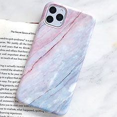 Silicone Candy Rubber Gel Fashionable Pattern Soft Case Cover S10 for Apple iPhone 11 Pro Max Cyan