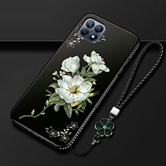 Silicone Candy Rubber Gel Flowers Soft Case Cover A01 for Oppo Reno4 SE 5G Mixed