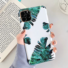 Silicone Candy Rubber Gel Flowers Soft Case Cover for Apple iPhone 11 Pro White