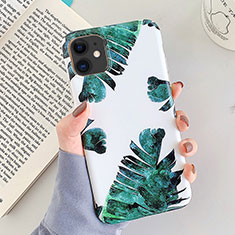 Silicone Candy Rubber Gel Flowers Soft Case Cover for Apple iPhone 11 White