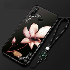 Silicone Candy Rubber Gel Flowers Soft Case Cover for Huawei Enjoy 9s Mixed