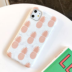 Silicone Candy Rubber Gel Fruit Soft Case Cover for Apple iPhone 11 White