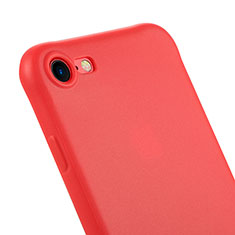 Silicone Candy Rubber Gel Soft Case C01 for Apple iPhone 7 Red