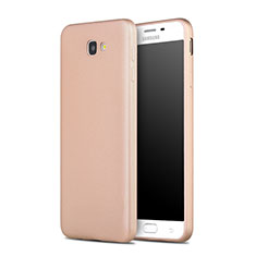 Silicone Candy Rubber Gel Soft Case for Samsung Galaxy J7 Prime Gold