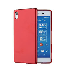 Silicone Candy Rubber Gel Soft Case for Sony Xperia Z4 Red