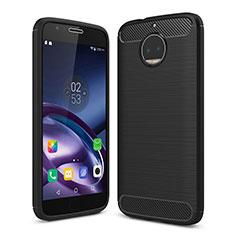 Silicone Candy Rubber Soft Case TPU for Motorola Moto G5S Plus Black